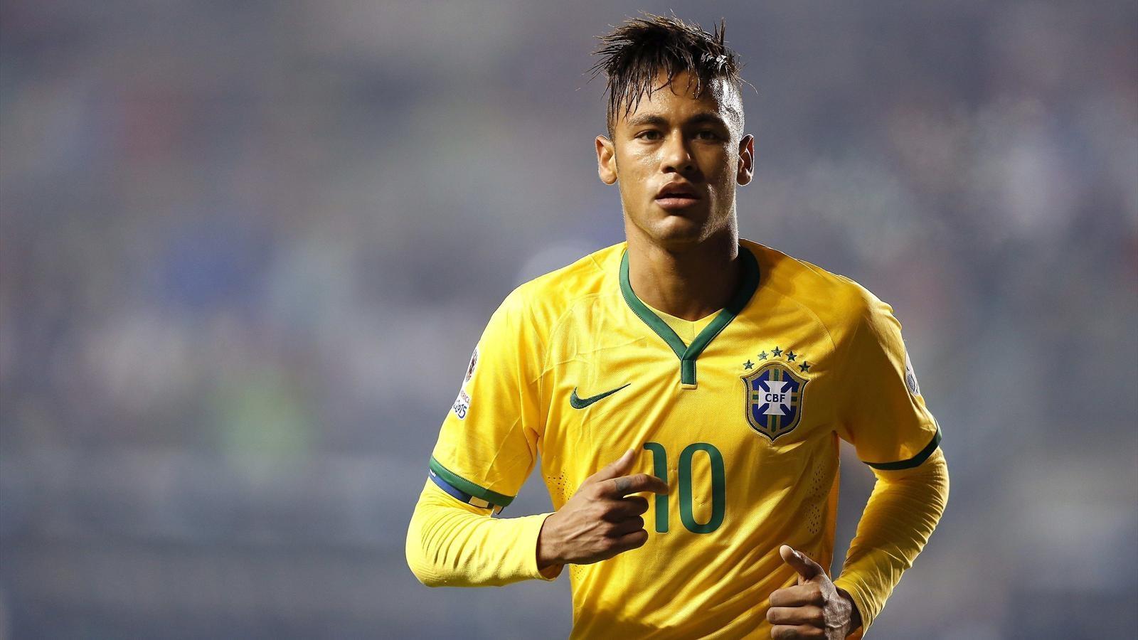 Coloriage Foot A Imprimer Neymar.Coloriage Neymar Au Bresil 2016 A Imprimer Et Colorier