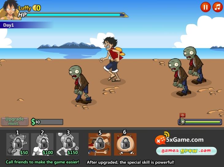 One Piece Zombie