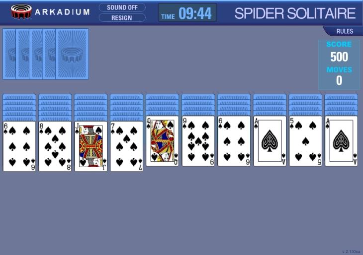 speeder solitaire