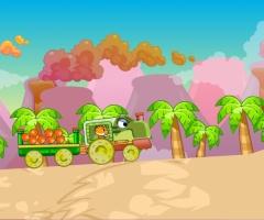Train dinosaure jeu