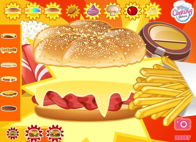 Hamburger jeu