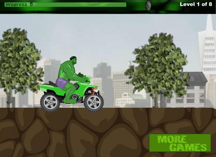 Hulk moto