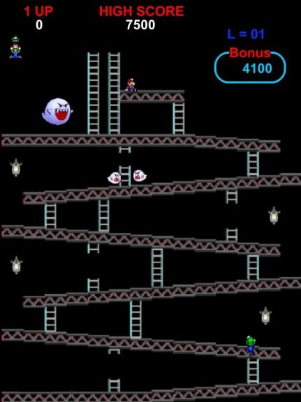Luigi Mario jeu