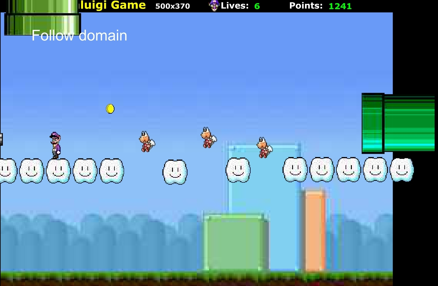 jeu waluigi gratuit en ligne