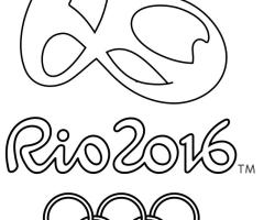 Coloriage jeux olympique 2016