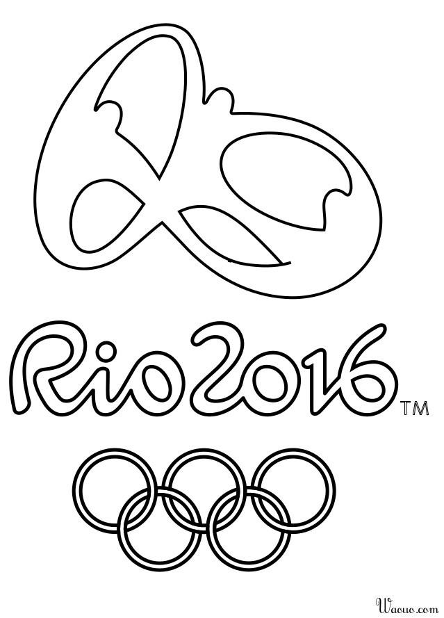 Coloriage Jeux Olympiques.Coloriage Jeux D Olympique 2016 A Imprimer Et Colorier