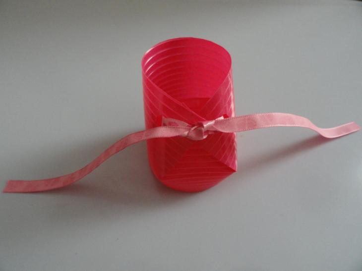 Chausson gobelet ruban
