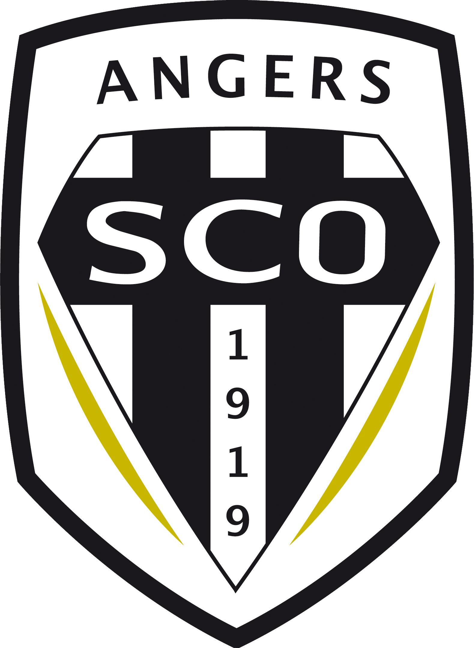 Coloriage Foot Sco Angers.Coloriage Football Angers A Imprimer Et Colorier