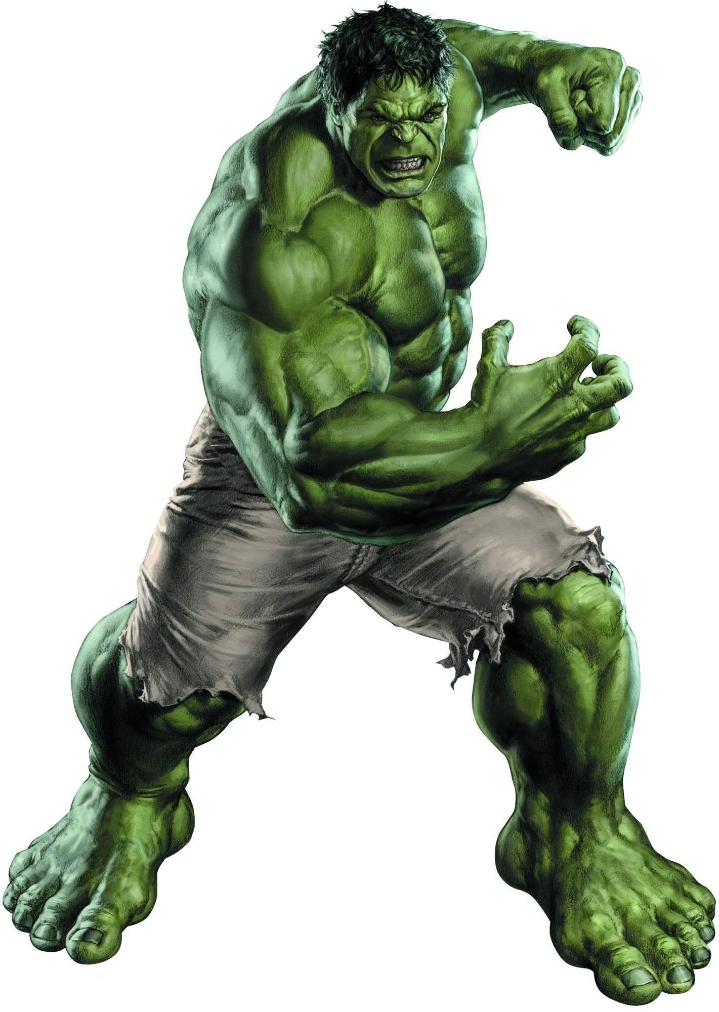 Coloriage Hulk Le Super Heros A Imprimer Et Colorier